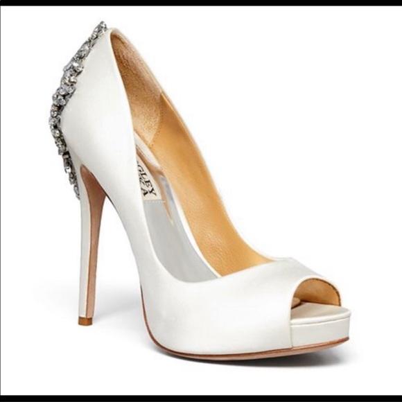 Badgley Mischka Wedding Shoes.Badgley Mischka Wedding Shoe